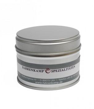 Aromaschutzdose, klein mit Etikett
