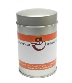 Aromaschutzdose, groß mit Etikett 5Stück