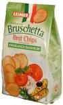 Brot Chips Bruschetta Knoblauch/Basilikum