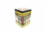 Teedose Black Jap eckig für 100 g-Stück
